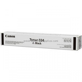 CANON 034 BLACK ORIGINAL TONER CARTRIDGE