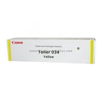 CANON 034 YELLOW ORIGINAL TONER CARTRIDGE
