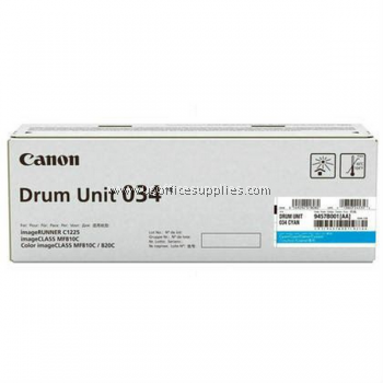 CANON 034 CYAN ORIGINAL DRUM CARTRIDGE