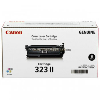 CANON 323 II BLACK ORIGINAL TONER CARTRIDGE