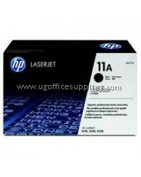 HP 11A ORIGINAL BLACK LASERJET TONER CARTRIDGE (Q6511A) - COMPATIBLE TO HP PRINTER 2400