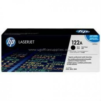 HP 122A ORIGINAL BLACK LASERJET TONER CARTRIDGE (Q3960A) - COMPATIBLE TO HP PRINTER 2820 / 2840