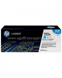 HP 122A ORIGINAL CYAN LASERJET TONER CARTRIDGE (Q3961A) - COMPATIBLE TO HP PRINTER 2820 / 2840