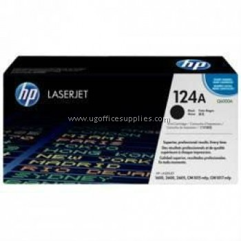 HP 124A ORIGINAL BLACK LASERJET TONER CARTRIDGE (Q6000A) - COMPATIBLE TO HP PRINTER CM1017MFP