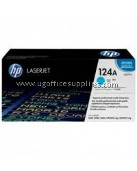 HP 124A ORIGINAL CYAN LASERJET TONER CARTRIDGE (Q6001A) - COMPATIBLE TO HP PRINTER CM1017MFP