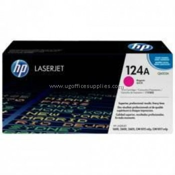 HP 124A ORIGINAL MAGENTA LASERJET TONER CARTRIDGE (Q6003A) - COMPATIBLE TO HP PRINTER CM1017MFP