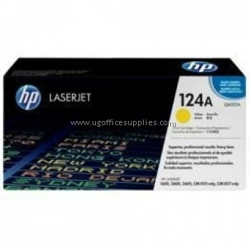 HP 124A ORIGINAL YELLOW LASERJET TONER CARTRIDGE (Q6002A) - COMPATIBLE TO HP PRINTER CM1015MFP