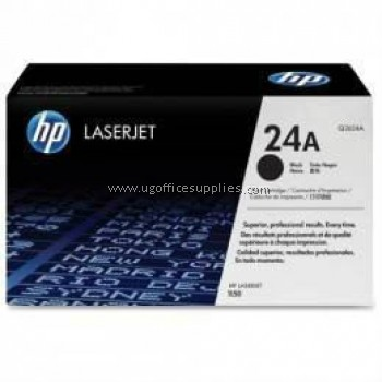 HP 24A ORIGINAL BLACK LASERJET TONER CARTRIDGE (Q2624A) - COMPATIBLE TO HP PRINTER 1150