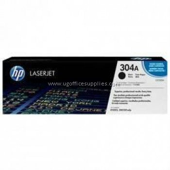HP 304A ORIGINAL BLACK LASERJET TONER CARTRIDGE (CC530A) - COMPATIBLE TO HP PRINTER CP2025