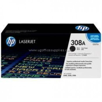 HP 308A ORIGINAL BLACK LASERJET TONER CARTRIDGE (Q2670A) - COMPATIBLE TO HP PRINTER 3500 / 3550