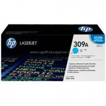 HP 309A ORIGINAL CYAN LASERJET TONER CARTRIDGE (Q2671A) - COMPATIBLE TO HP PRINTER 3500 / 3550