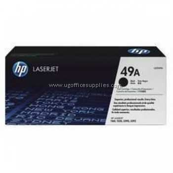 HP 49A ORIGINAL BLACK LASERJET TONER CARTRIDGE (Q5949A) - COMPATIBLE TO HP PRINTER 1160 / 1320