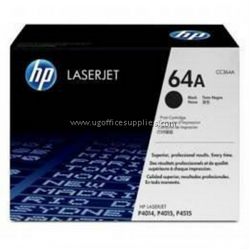 HP 64A ORIGINAL BLACK LASERJET TONER CARTRIDGE (CC364A) - COMPATIBLE TO HP PRINTER P4014 / P4015