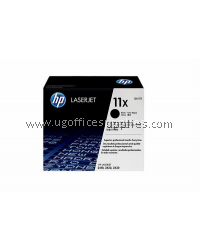 HP 11X ORIGINAL BLACK LASERJET TONER CARTRIDGE (Q6511X) - COMPATIBLE TO HP PRINTER 2420 / 2420D