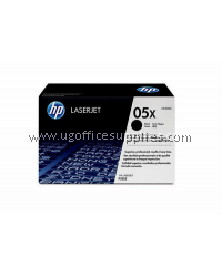 HP 05X ORIGINAL BLACK DUAL PACK LASERJET TONER CARTRIDGE (CE505XD) - COMPATIBLE TO HP PRINTER 2000