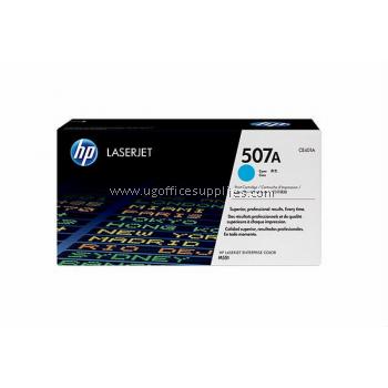 HP 507A ORIGINAL CYAN LASERJET TONER CARTRIDGE (CE401A) - COMPATIBLE TO HP PRINTER M551N
