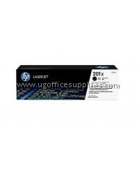 ( GENUINE ) 100% ORIGINAL HP 201X ( CF400X / CF 400X ) High Yield Color Toner Black Cartridge For HP LaserJet Pro M252 / MFP M277 Printer
