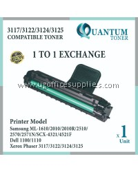 Fuji Xerox 3124 3122 3117 FX CWAA0759 CWAA 0759 BK High Quality Compatible Laser Toner Black Cartridge for Fuji Xerox 3117 / 3124 / Phaser 3117 / Phaser 3122 / Phaser 3124 / Phaser 3125 Printer Ink