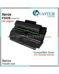 Fuji Xerox 3428 3428D 3428DN CWAA0716 BK High Quality & High Yield Compatible Laser Toner Black Cartridge for Fuji Xerox Phaser 3428 / Phaser 3428d / Phaser 3428dn Printer Ink