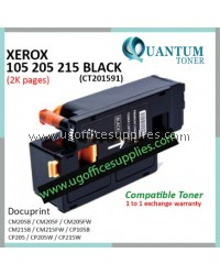 Fuji Xerox CP105 / CP205 / CP215 / CM205 / CM215 / CT201591 BK High Quality Compatible Color Laser Toner Black Cartridge for Fuji Xerox Docuprint CM205b CM205f CM205fw CM215b CM215fw CP105b CP205 CP205w CP215w Printer Ink