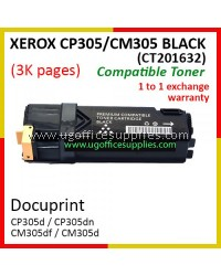 Fuji Xerox CP305 / CP305d / CM305 / CM305df / CT201632 High Quality Compatible Toner Black Cartridge for Fuji Xerox Color LaserJet CP 305d / CP 305dn / CM 305d / CM 305df Printer Ink
