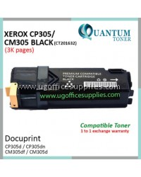 Fuji Xerox CP305 / CP305d / CM305 / CM305df / CT201632 BK High Quality Compatible Color Laser Toner Black Cartridge for Fuji Xerox Color DocuPrint CP 305d / CP 305dn / CM 305d / CM 305df Printer Ink
