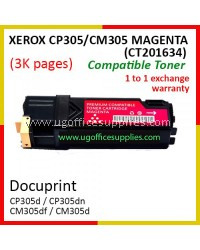 Fuji Xerox CP305 / CP305d / CM305 / CM305df / CT201634 High Quality Compatible Toner Magenta Cartridge for Fuji Xerox Color LaserJet CP 305d / CP 305dn / CM 305d / CM 305df Printer Ink