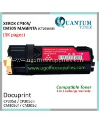 Fuji Xerox CP305 / CP305d / CM305 / CM305df / CT201634 MG High Quality Compatible Color Laser Toner Magenta Cartridge for Fuji Xerox Color DocuPrint CP 305d / CP 305dn / CM 305d / CM 305df Printer Ink