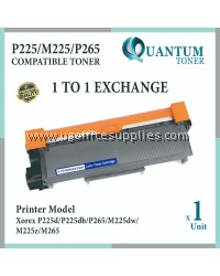 Fuji Xerox P225 / P225d / P225db / P265dw / M225 / M265z / M225z / M225dw CT202330 High Quality Compatible Toner Black Cartridge for Fuji Xerox Docuprint P255dw / P255db / P265dw / FUJI XEROX Docuprint M255z Printer Ink