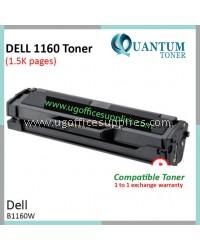 Dell B1160 / B1160w / B1163 / B1163w / B1165 / B1165nfw BK High Quality Compatible Laser Toner Black Cartridge for Dell B1160w / DELL B1165nfw Printer Ink