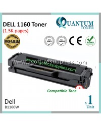 Dell B1160 / B1160w / B1163 / B1163w / B1165 / B1165nfw BK High Quality Compatible Laser Toner Black Cartridge for Dell B1160w / DELL B1165nfw Printer Ink