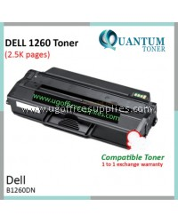 Dell B1260dn B1265dnf / Dell B1260 B1265 / Dell 1260 1265 / Dell 1265dnf 1260dn BK High Quality Compatible Laser Toner Black Cartridge for Dell B1260DN Printer Ink