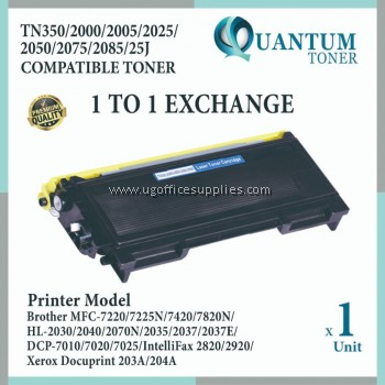 Brother TN-2025 TN2025 TN-2050 TN2050 High Quality Compatible Toner Black for Brother DCP7010 / DCP7020 / DCP7025 / MFC7220 / MFC7420 / MFC7820N / HL2030 / HL2035 / HL2037 / HL2040 / HL2045 / HL2070N / FAX2820 / FAX2920 Printer Ink
