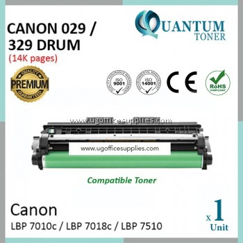 Canon 329 029 / Canon Cartridge 329 029 High Quality Compatible Laser Drum Cartridge for Canon LBP-7018c / LBP 7018C / LBP7018 / lbp7018c / LBP-7010c / LBP 7010C / LBP7010 / lbp7010c Printer Drum Kit / Drum Unit