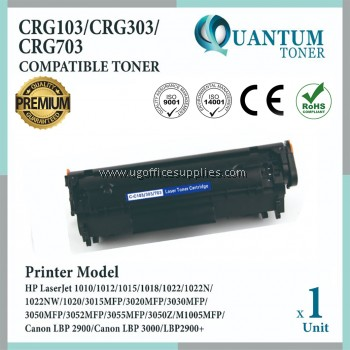 Canon 303 Cartridge 303 CRG 303 High Quality Compatible Toner Black for Canon LBP2900 LBP3000 MF4000 MF4100 MF4200 MF4600 MF4120 MF4122 MF4150 MF4270 MF4320d MF4350d MF4370dn MF4380dn MF4680 MF4690 L100 L110 L120 L140 L160 FAX L230 Printer Ink