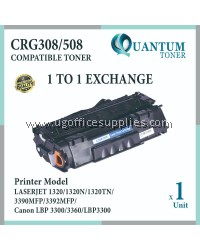 Canon 308 Canon 508 / CRG 308 CRG 508 / CART 308 CART 508 / Cartridge 308 Cartridge 508 BK High Quality Compatible Laser Toner Black Cartridge for Canon LBP-3300 LBP3300 LBP 3300 / Canon LBP-3360 LBP3360 LBP 3360 Printer Ink