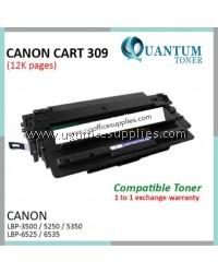 Canon 309 / Canon Cartridge 309 / CART 309 / CRG-309 / CRG309 / CRG 309 BK High Quality Compatible Laser Toner Black Cartridge for Canon LaserShot LBP-3500 / LBP 3500 / LBP3500 Printer Ink
